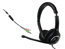 125-93 Sandberg Plug'n Talk Headset Black - 125-93 (Headsets Microphones > Headphones & Headsets) Multi Format and Universal