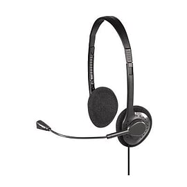 00029188 Hama PC Headset CS-188 Stereo - 00029188 (Headsets Microphones > Headphones & Headsets) Multi Format and Universal