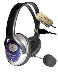 DH-660-USB DYNAMODE USB STEREO HEADPHONE & MICROPHONE - DH-660-USB (Headsets Microphones > Headphon Multi Format and Universal