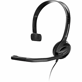 504520 Sennheiser PC 21 - II PC Analogue Headset Range (Over the head, monaural VoIP headset) - 504 Multi Format and Universal