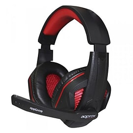 APPGH7R Approx (GH7R) Gaming Headset Boom Mic 40mm Drivers Inline Controls 3.5mm Jack Red Retail - A Multi Format and Universal