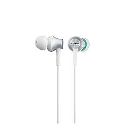 MDREX450W.AE Sony MDR-EX450 In Ear Closed Headphones - White/Silver - MDREX450W.AE (Headsets Microp Multi Format and Universal