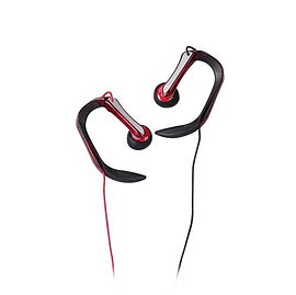 T62143 TDK SB40s In Ear Sports Earphones Red - T62143 (Headsets Microphones > Headphones & Headsets Multi Format and Universal
