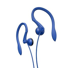SE-E511-L Pioneer Around the Ear Clip Earphones Blue 1.2m Cord - SE-E511-L (Headsets Microphones > Multi Format and Universal