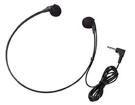 057747 Olympus A headset that is perfect for use with a desktop transcription machines featuring a 3 Multi Format and Universal