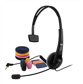 3912 DORO HS125 HEADSET - 3912 (Headsets Microphones > Headphones & Headsets) Multi Format and Universal