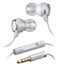 86110-05 Plantronics BackBeat 216 Wired In-Earphones (White) - 86110-05 (Headsets Microphones > Hea Multi Format and Universal
