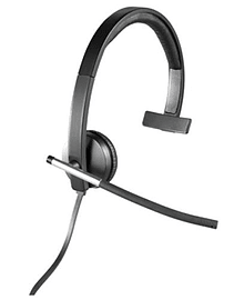 981-000514 Logitech H650e USB Headset Mono - 981-000514 (Headsets Microphones > Headphones & Headse Multi Format and Universal