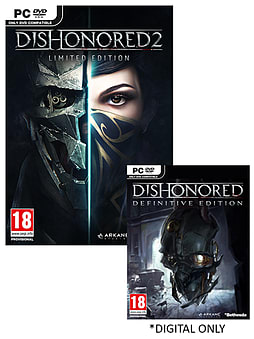 Dishonored 2 Limited Edition PC Cover Art