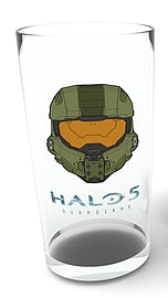 Halo 5 Mask Pint Glass Home - Tableware