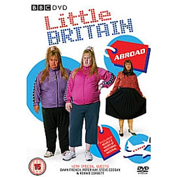 Little Britain Abroad DVD