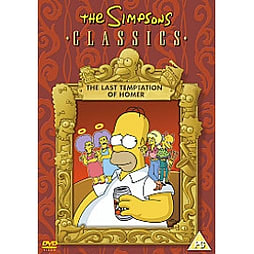 Simpsons - Classics - The Last Temptation Of Homer DVD
