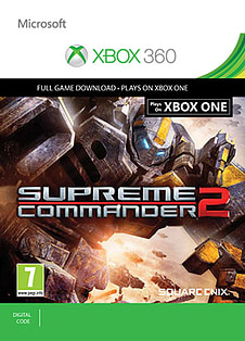 Supreme Commander 2 XBOX ONE Cover Art