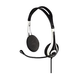 00051616 Hama PC Headset HS-250 stereo - 00051616 (Headsets Microphones > Headphones & Headsets) Multi Format and Universal