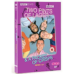 Two Pints Of Lager And A Packet Of Crisps - Series 3-4 DVD