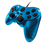 Gioteck VX-3 Wired Controller (PS3) - Blue screen shot 1