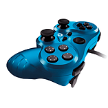 Gioteck VX-3 Wired Controller (PS3) - Blue screen shot 2
