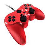 Gioteck VX-3 Wired Controller (PS3) - Red screen shot 4
