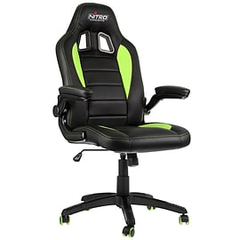 Nitro Concepts C80 Motion Series Gaming Chair - Black/Green Multi Format and Universal