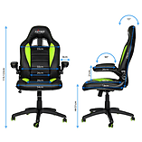 Nitro Concepts C80 Motion Series Gaming Chair - Black/Green screen shot 2