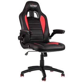 Nitro Concepts C80 Motion Series Gaming Chair - Black/Red Multi Format and Universal