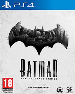 Batman: The Telltale Series PS4 Cover Art