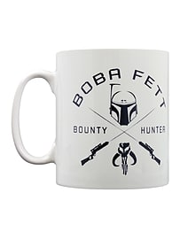 Star Wars Boba Fett Symbol White Mug Home - Tableware