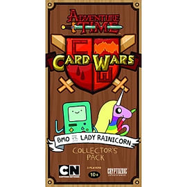 Adventure Time Card Wars BMO vs Lady Rainicorn Collectors Pack Traditional Games