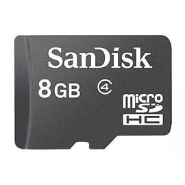 SanDisk 8GB Micro SDHC Class 4 Memory Card Mobile phones
