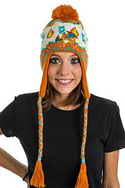 KC1XK7POK POKEMON Unisex Charizard Laplander Earflap Beanie, One Size, Multi-Colour (KC1XK7POK) - K Clothing