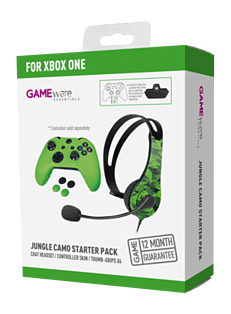 GAMEware Jungle Camo Starter Pack - Xbox One XBOX ONE