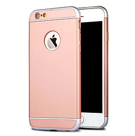 Matte Metallic Ultra-Thin Shockproof Armor Case Cover for Apple iPhone 6 6S ROSE GOLD Mobile phones