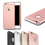 Matte Metallic Ultra-Thin Shockproof Armor Case Cover for Apple iPhone 6 6S BLACK screen shot 1