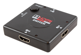 GAMEware Multiformat HDMI Hub Multi Format and Universal