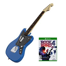 Rock Band Rivals Fender Jaguar Guitar Controller Bundle for Xbox One XBOX ONE