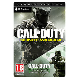 Call of Duty: Infinite Warfare - Legacy Edition with Modern Warfare Remastered PC Downloads Cover Art