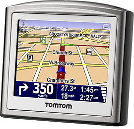TomTom ONE 3rd Edition 3.5-Inch Portable GPS Vehicle Navigator GOOD CONDITION Sat Navs