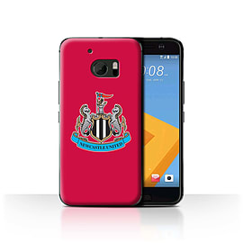 Newcastle United FC Case/Cover for HTC 10/One M10 (2016)/Colour/Red Design/NUFC Football Crest Mobile phones