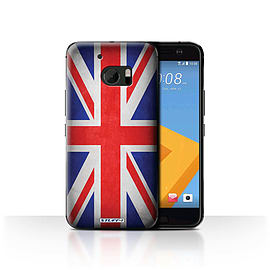 STUFF4 Case/Cover for HTC 10/One M10 (2016) / Great Britain/British Design / Flags Collection Mobile phones