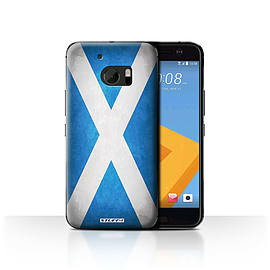 STUFF4 Case/Cover for HTC 10/One M10 (2016) / Scotland/Scottish Design / Flags Collection Mobile phones
