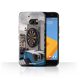 STUFF4 Case/Cover for HTC 10/One M10 (2016) / Bullseye Design / Imagine It Collection Mobile phones