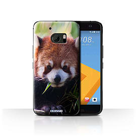 STUFF4 Case/Cover for HTC 10/One M10 (2016) / Racoon Design / Wildlife Animals Collection Mobile phones