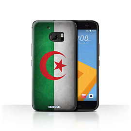 STUFF4 Case/Cover for HTC 10/One M10 (2016) / Algeria/Algerian Design / Flags Collection Mobile phones