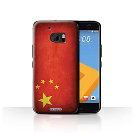 STUFF4 Case/Cover for HTC 10/One M10 (2016) / China/Chinese Design / Flags Collection Mobile phones