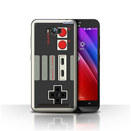 STUFF4 Case/Cover for Asus Zenfone Max ZC550KL / Nintendo Classic Design / Games Console Collection Mobile phones