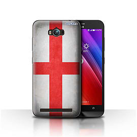 STUFF4 Case/Cover for Asus Zenfone Max ZC550KL / England/English Design / Flags Collection Mobile phones