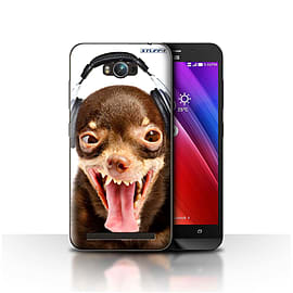 STUFF4 Case/Cover for Asus Zenfone Max ZC550KL / Ridiculous Dog Design / Funny Animals Collection Mobile phones