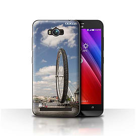 STUFF4 Case/Cover for Asus Zenfone Max ZC550KL / London Eye Design / Imagine It Collection Mobile phones