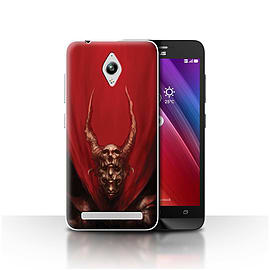 Official Chris Cold Case/Cover for Asus Zenfone Go ZC500TG/Red Duke Design/Dark Art Demon Mobile phones
