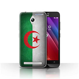 STUFF4 Case/Cover for Asus Zenfone Go ZC500TG / Algeria/Algerian Design / Flags Collection Mobile phones